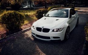 Picture white, bmw, BMW, coupe, white, e92