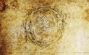 Picture texture, old, parchment