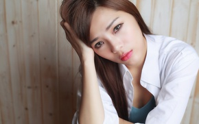 Picture look, Asian, beauty