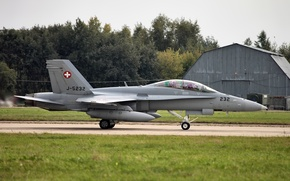 Wallpaper Military air force of Switzerland, MAKS 2013, MAX 2013, McDonnell Douglas F/A-18 Hornet