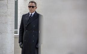 Picture frame, 007: RANGE, SPECTRE, coat, James Bond, Daniel Craig, agent, James Bond, Daniel Craig, 007, ...