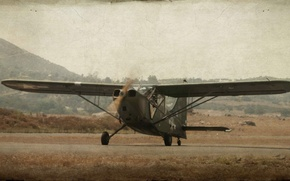 Picture aviation, style, background, the plane
