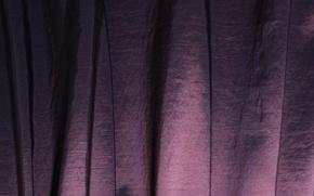 Wallpaper folds, fabric, blind