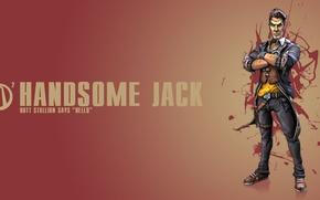 Picture background, Jack, Borderlands 2, Handsome Jack
