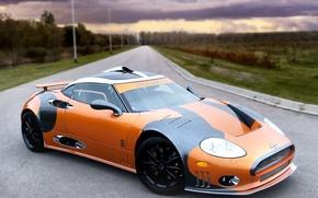 Picture road, track, Spyker, laviolette