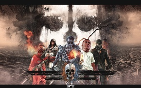 Picture Ubisoft, Watch Dogs, GTA V, Battlefield 4, Assassin'S Creed IV