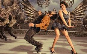 Picture music, cinema, wallpaper, girl, dress, woman, man, movie, dance, brunette, film, Bollywood, official wallpaper, Telugu, …
