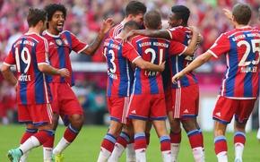 Picture football, Allianz Arena, Bayern Munich, Bundesliga