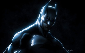 Picture black, Batman, dc universe, dc comics, superheroes, Bruce Wayne