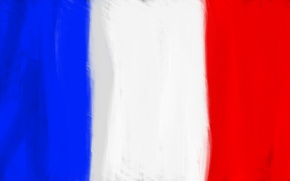 Picture white, blue, red, France, Flag, Flag Of France