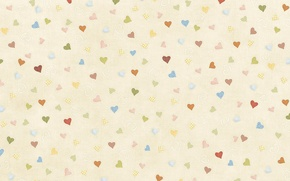 Picture background, texture, art, hearts