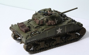 "Picture toy, tank, average, model, M4 Sherman, ""Sherman"""