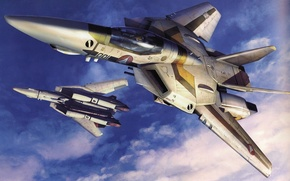 Wallpaper the sky, aviation, Wallpaper, fighters
