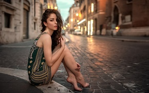 Picture Girl, Look, Rome, Legs, The beauty, Micky Kraviz
