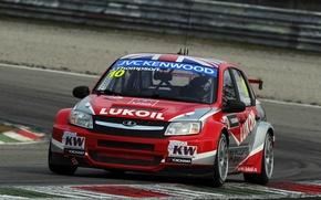 Picture Lada, Lada, Granta, Monza, WTCC, James Thompson, The world championship in the class touring cars., …