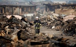 Wallpaper disaster, the wreckage, the unknown, the city, ruins, devastation, plea, Japan, death, earthquake, tsunami, destruction, ...
