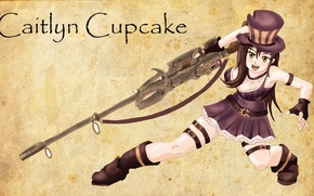 Picture Anime, League of Legends, Caitlyn