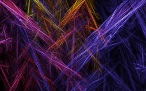 Picture rays, line, background, paint, color, track, touch