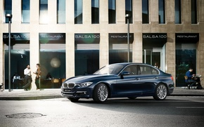Picture bmw, blue, luxury, 3 series, 3P