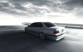 Picture car, BMW, e38, stance, 7 series, 740IL