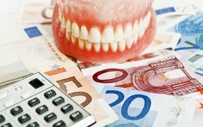 Picture medicine, business, dentures, dental prostheses, dentist