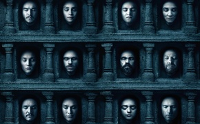 Picture poster, Game of Thrones, Game of thrones, the sixth season, On-off, waiting for