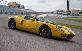 Picture Ford, yellow, track, hre, gt