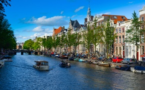 Picture the city, Amsterdam, Netherlands, channel.