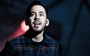 Picture music, rock, 2011, Linkin Park, Mike Shinoda, stage, flannel, Mike Kenji Shinoda, Kenji, Hovefestivalen, Hove …