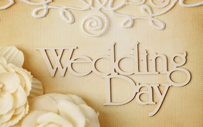 Picture flowers, ring, wedding, flowers, background, day, ring, soft, wedding, lace