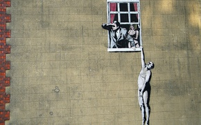 Picture the situation, graffiti, banksy