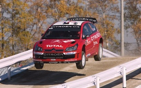 Picture Red, Auto, Sport, Machine, Speed, Race, Citroen, Citroen, WRC, Rally, Rally, The front, In The …