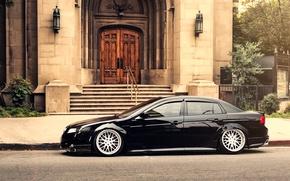 Picture black, honda, Honda, accord, chord, acura, stance, Acura
