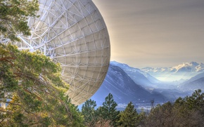 Picture MOUNTAINS, ANTENNA, PLATE, STATION, The STUDY