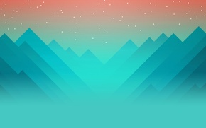Picture mountains, the game, game, monument valley, logical