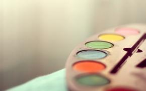 Picture paint, palette, different