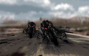 Picture Terminator, FICTION, MECHANISMS, Salvation, TERMINATOR, ROBOTS