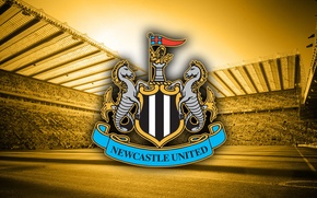 Picture wallpaper, logo, stadium, football, England, St. James's Park, Newcastle United