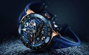 Picture chronometer, Ulysses Nardan, blue toro, ulysses nardin