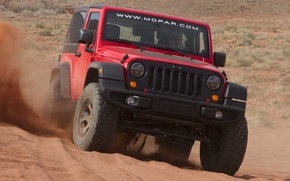Picture jeep, Wrangler, Slim, Jeep, sand, the concept, the front, machine, Concept