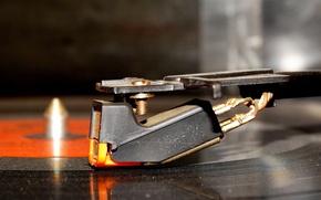 Picture player, record, tape, radio