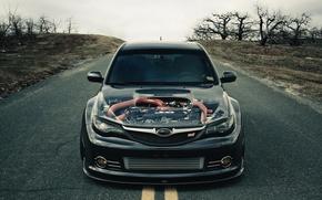 Picture engine, tuning, cars, subaru, engine, cars, motor, wrx, impreza, Subaru, auto wallpapers, car Wallpaper, sti, …