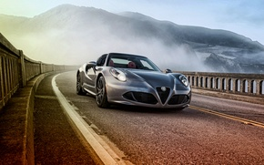Wallpaper Alfa Romeo, Alfa Romeo, Spider, US-spec, 2015, 960