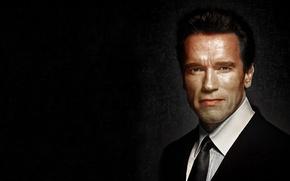 Picture portrait, actor, Arnold Schwarzenegger
