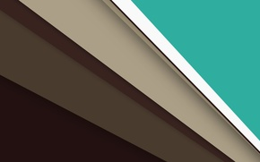 Picture line, green, Android, brown, beige, material
