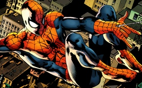 Picture spider-man, marvel, new york city, comics
