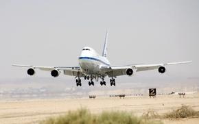 Wallpaper boeing, Boeing, 747