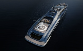 Picture Yacht, Sovereign, Futuristic