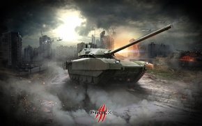 Wallpaper tank, armata, t-14