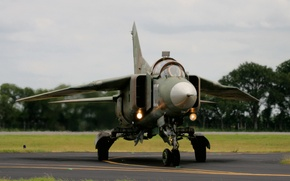 Picture fighter, bomber, multipurpose, The MiG-23